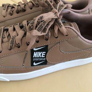 "Nike ""Blazer"" leather sneakers"
